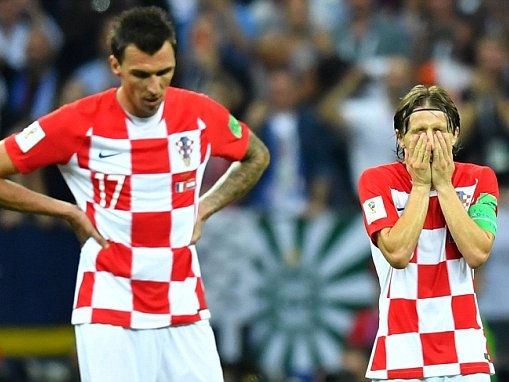 Luka Modric believes Croatia were better than France in World Cup final