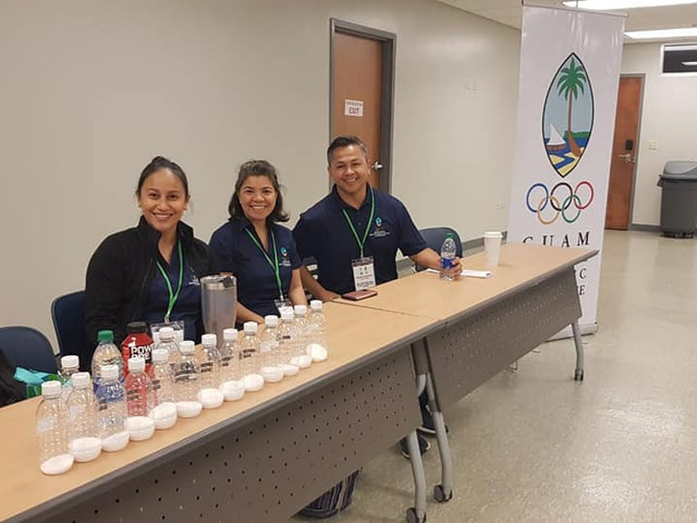 Guam National Olympic Committee partner with Department of Education on Athlete Awareness Programme