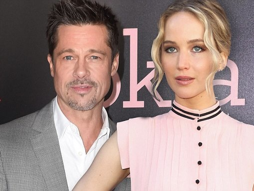 Brad Pitt and Jennifer Lawrence share 'intense connection'