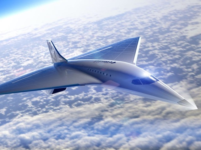 Virgin Galactic just revealed a new supersonic passenger jet it planned with Rolls Royce, which used to make Concorde jet engines (SPCE)