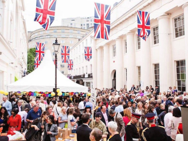 In Photos: London Street Parties Through The Years