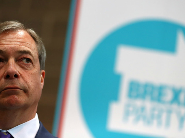 Brexit Party overtakes Tories in national poll