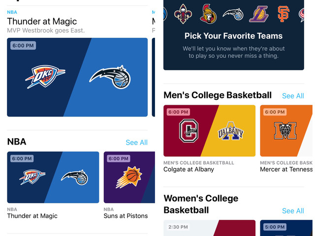 Apple Promises More Live Sports Providers are Coming to the TV App