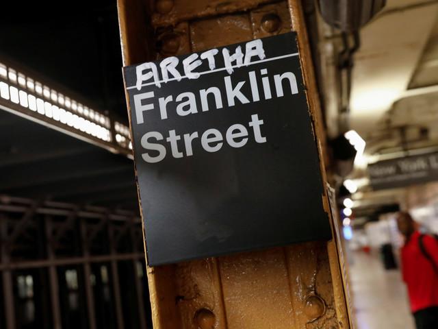 NYC Subway Graffiti Pays Homage To Aretha Franklin