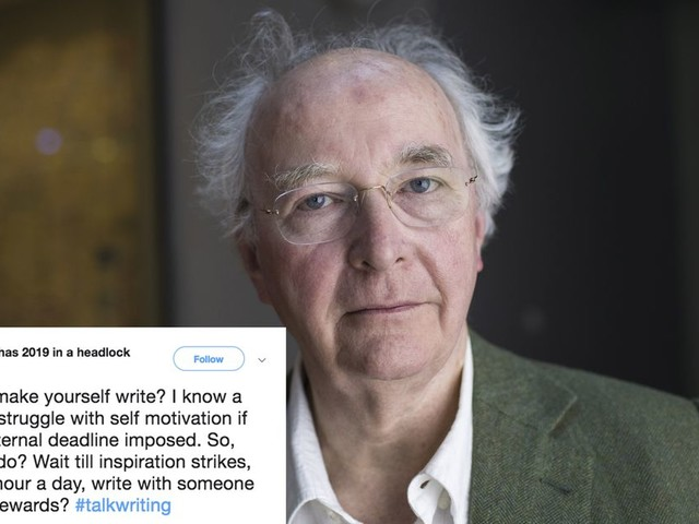 'His Dark Materials' author tweets a genuinely useful piece of writing advice