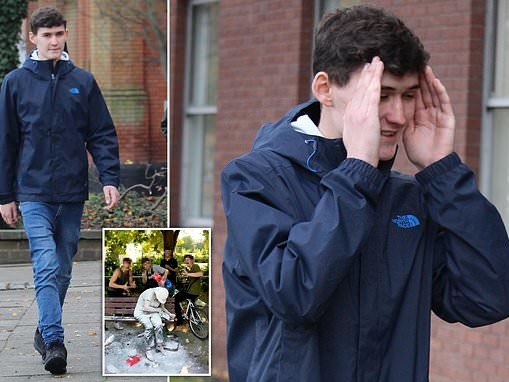Teen yob, 18, who pelted vulnerable woman with flour and eggs faces 'inevitable' prison time
