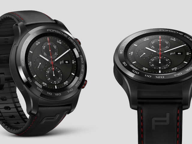 Huawei teams up with Porsche Design once more, this time for the Huawei Watch 2