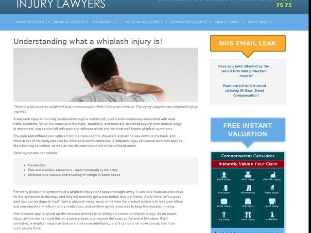 Whiplash Injury - Anygator.com