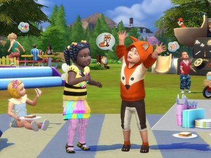 Imprison toddlers in ball pools with incoming Sims 4 toddler stuff pack (I assume)