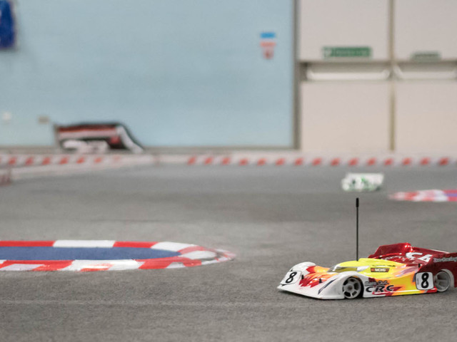 The high-tech world of radio-controlled car racing