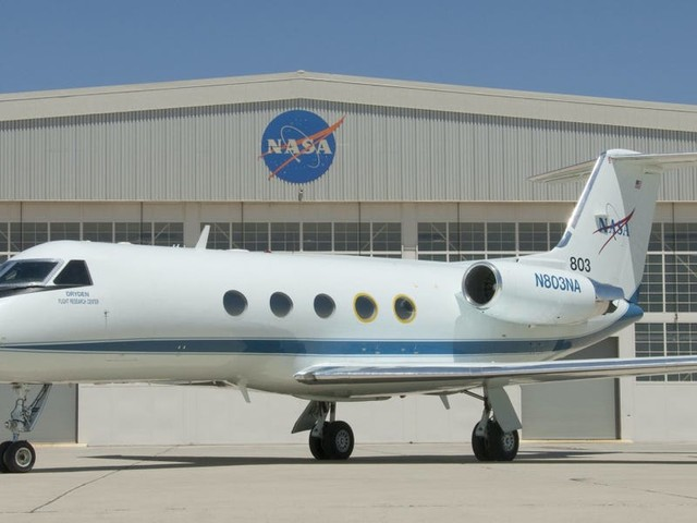 NASA operates a fleet of Gulfstream private jets used to shuttle astronauts and conduct research missions – take a closer look