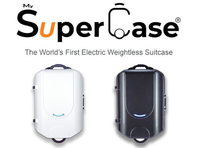 My SuperCase – the World's First Electric Weightless Suitcase Launches Today