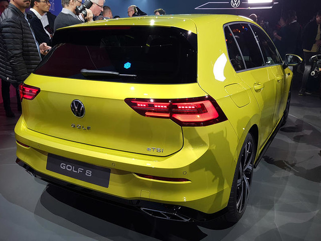 New 2020 Volkswagen Golf gains mild hybrid engines, new technology