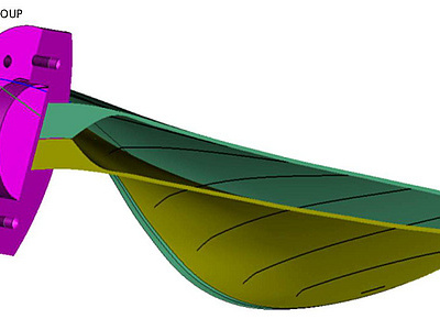 Naval Group and Centrale Nantes 3D print first hollow propeller blade with WAAM; RAMSSES