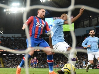Manchester City 2-2 Crystal Palace: Aguero brace in vain as Palace pilfer point