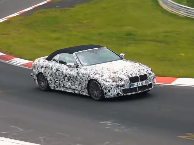 SPIED: BMW 4 Series Coupe shows off its camouflages curves again