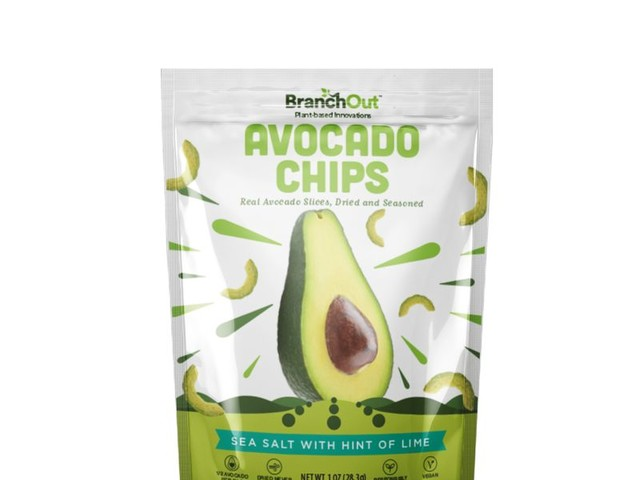 Savory Avocado Chips - BranchOut Makes Satisfying Chips from Real, Dried Avocado Slices (TrendHunter.com)