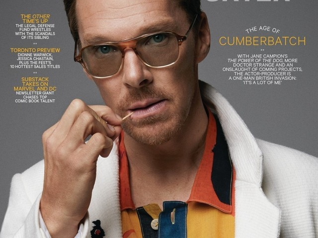 Benedict Cumberbatch didn't bathe for days while filming 'The Power of the Dog'