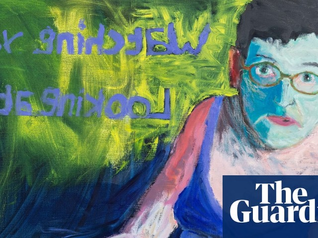 Lucy Jones: 'I paint on the floor - it's less far to fall'