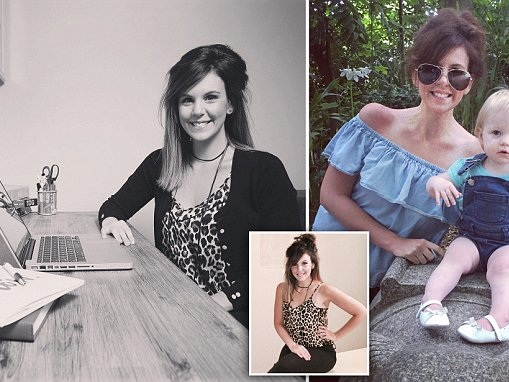 Woman creates writing business as maternity leave hobby
