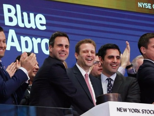 Traders can't stop betting against battered Blue Apron (APRN)