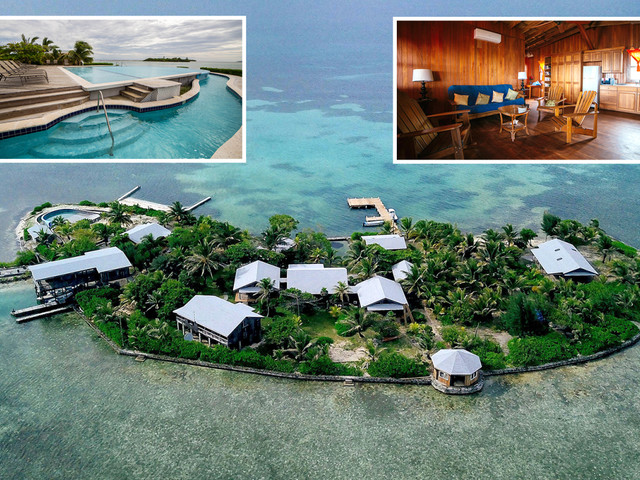 Jaw-dropping Caribbean private island with infinity pool and open bar is yours for £245pp a night