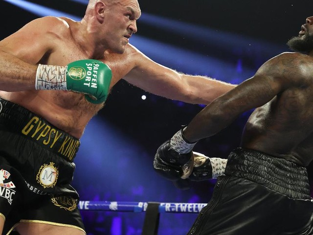 Fury hungry to repeat Wilder win in rematch