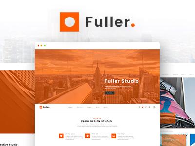 Fuller - Creative Portfolio, Resume & Agency WordPress Theme (Portfolio)