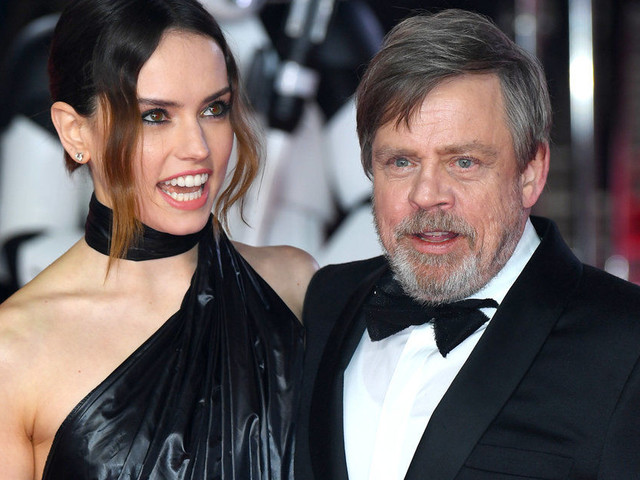 'Star Wars' Premiere Sees Daisy Ridley, Mark Hamill And Co Joined By Royalty On The Red Carpet