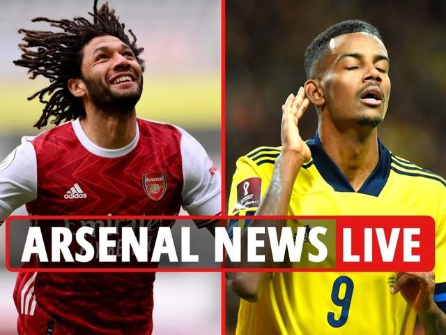 Arsenal news LIVE: Elneny sale LATEST, Isak eyed to replace Lacazette, Jovic potential switch – transfer updates