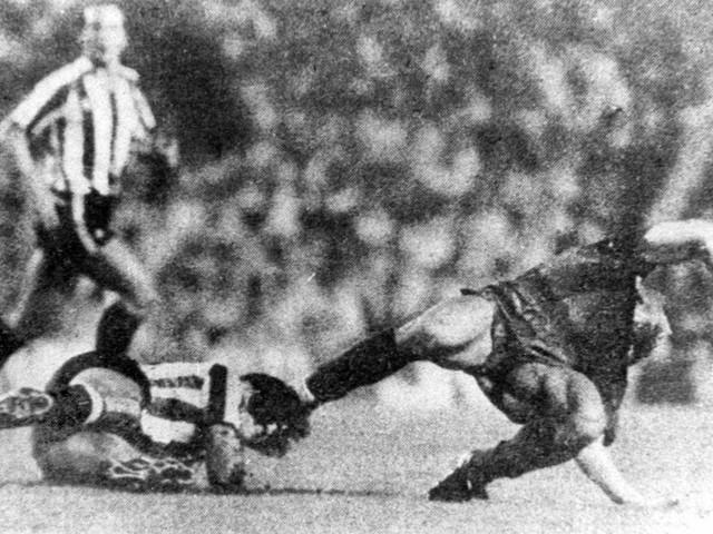 On This Day in Football: The Butcher of Bilbao hacks Maradona