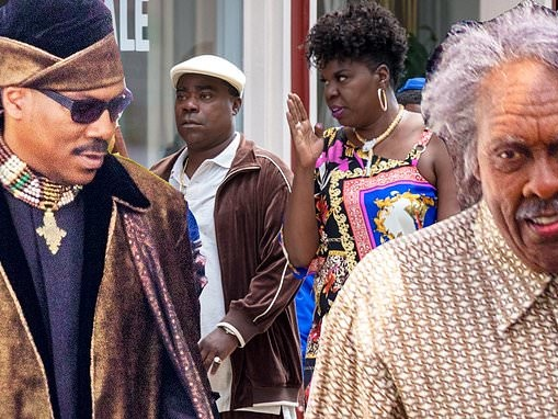 Coming To America 2 set sees Eddie Murphy and Arsenio Hall back and Leslie Jones debut in Atlanta