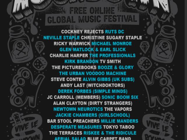 online punk festival this Saturday! VIVE LE ROCKDOWN announcers line up