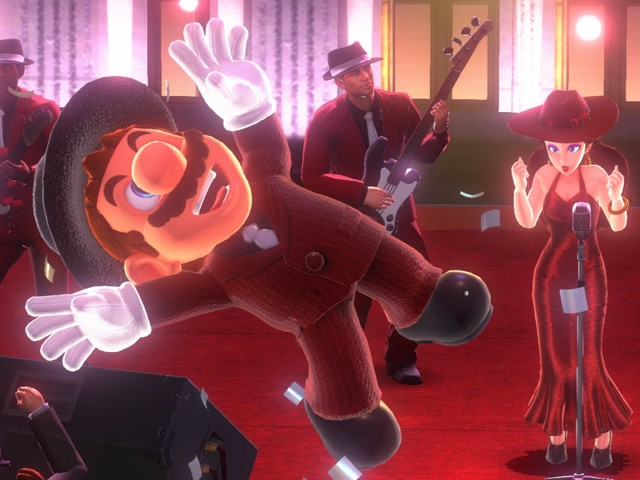 Super Mario Odyssey's free Balloon World DLC is out now, bringing with it Luigi, new costumes and a new online mode