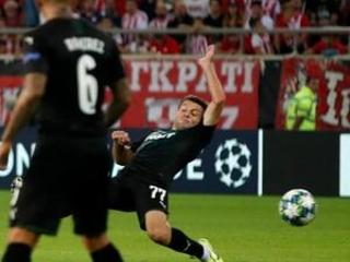 Olympiakos, Dinamo Zagreb win Champs League playoff 1st legs