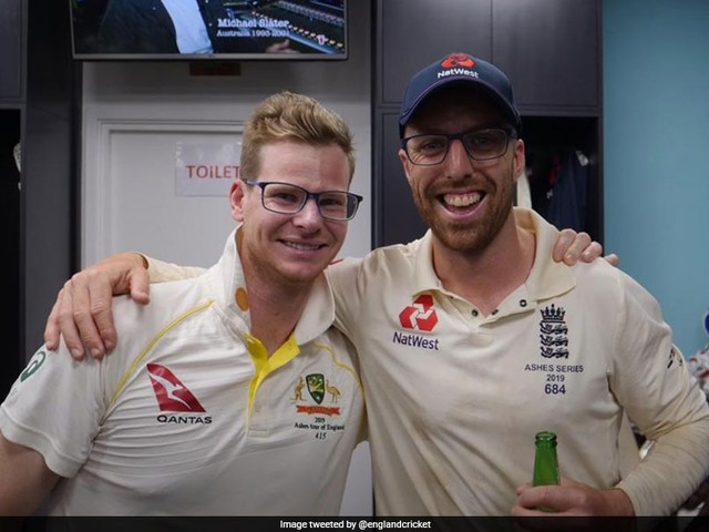 "Steve Smith, Jack Leach End ""Spectacles"" Controversy After Ashes Draw"