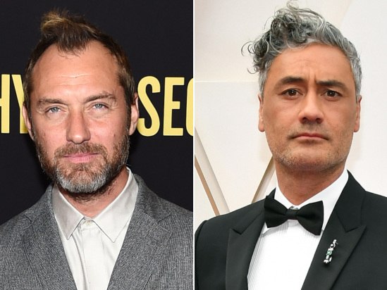 Jude Law to Star in Taika Waititi's Showtime Horror-Comedy 'The Auteur'