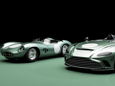 Aston Martin V12 Speedster DBR1 Comes With a Healthy Dose of Vintage Exclusivity