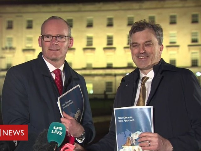 Stormont: Governments must 'deliver financial package'