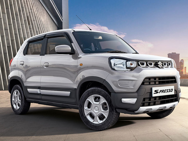 Maruti Suzuki sells over 10,000 units of S-Presso in October 2019