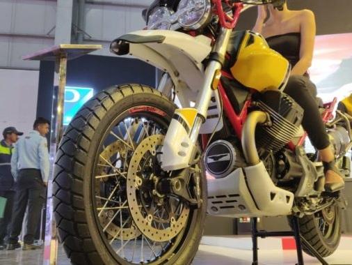 "MOTO GUZZI'S ""V85 TT ADVENTURE"" arrives at the Auto Expo 2020"