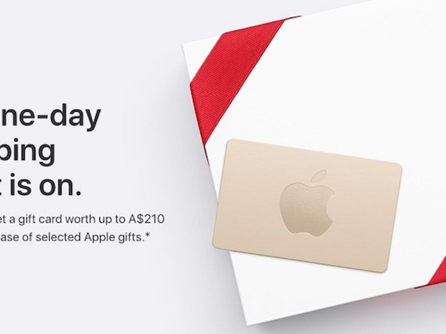 Apple's Black Friday Event Begins in Australia and New Zealand With Free Gift Cards Worth Up to $210