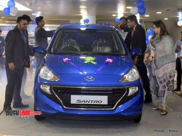 Hyundai Santro records 57k bookings since launch