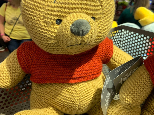 A Cozy, Cuddly, Silly Old Bear: This Pooh Cozy Knit Plush Has Just Blustered Into Epcot!