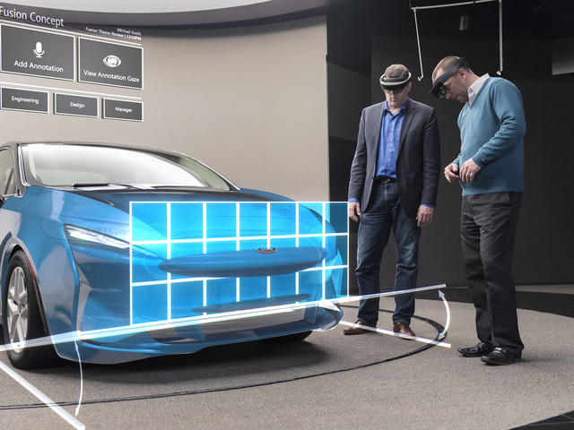 Ford Now Using Holograms to Design Cars