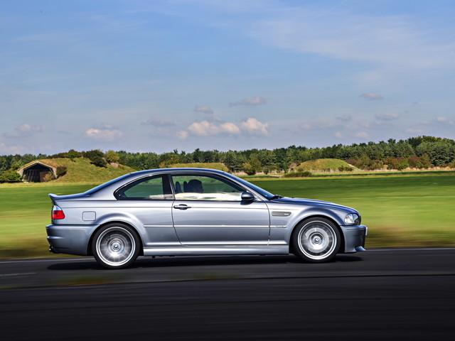 9,000-mile 2004 BMW E46 M3 CSL Heading for Auction