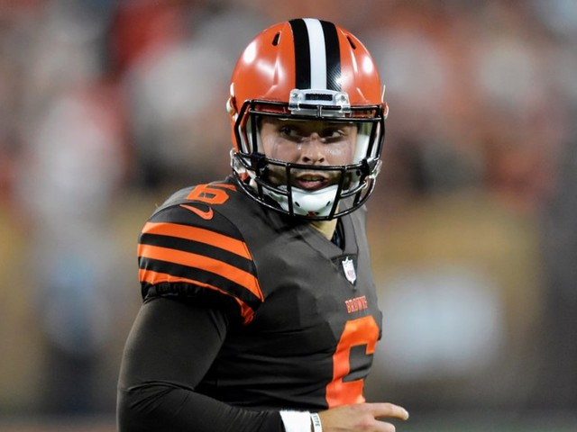 The Browns will hand the reins to Baker Mayfield after his explosive debut, but it could create an awkward situation