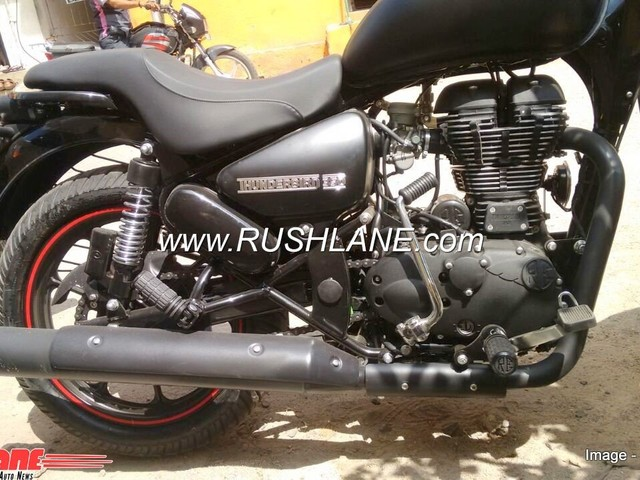 New Royal Enfield Thunderbird 350X spied undisguised, without 'X' branding