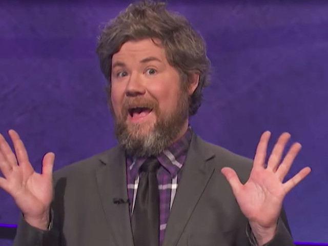 The 12 Most Delightful Austin Rogers GIFs From His Astounding Jeopardy! Run