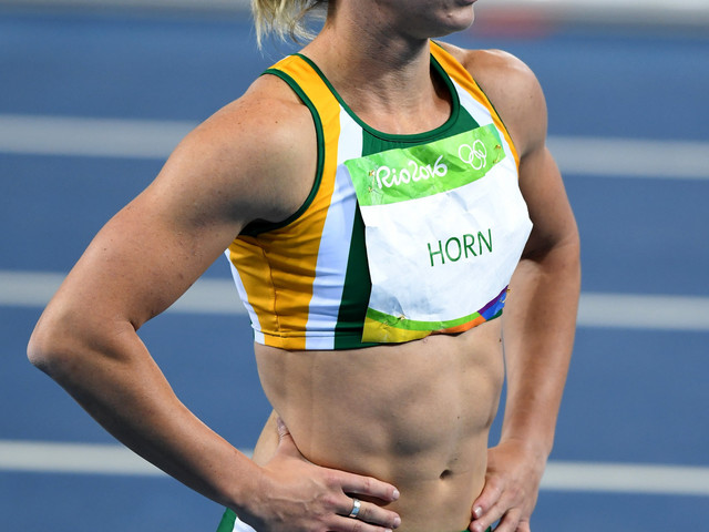 South African sprinter Horn suspended after failing drugs test